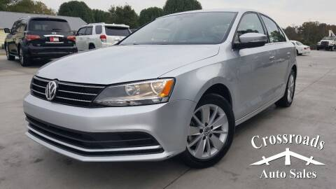 2016 Volkswagen Jetta for sale at Crossroads Auto Sales LLC in Rossville GA