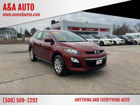 2012 Mazda CX-7 for sale at A&A AUTO in Fairhaven MA