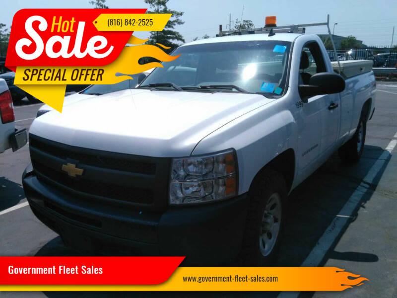 2012 Chevrolet Silverado 1500 for sale at Government Fleet Sales in Kansas City MO