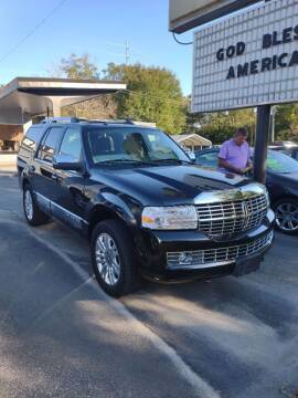 2014 Lincoln Navigator for sale at DON BAILEY AUTO SALES in Phenix City AL