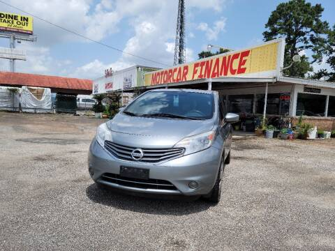 2015 Nissan Versa Note for sale at MOTOR CAR FINANCE in Houston TX
