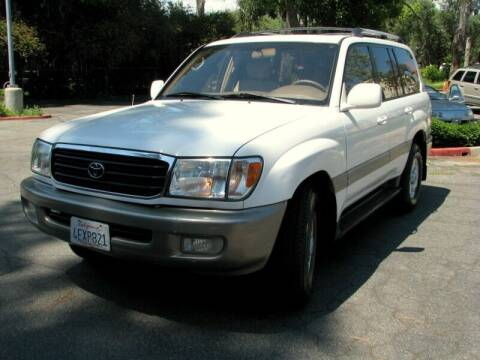 1999 Toyota Land Cruiser for sale at Used Cars Los Angeles in Los Angeles CA