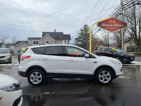 2016 Ford Escape for sale at Shattuck Motors in Newport VT