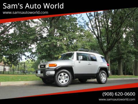 2007 Toyota FJ Cruiser for sale at Sam's Auto World in Roselle NJ