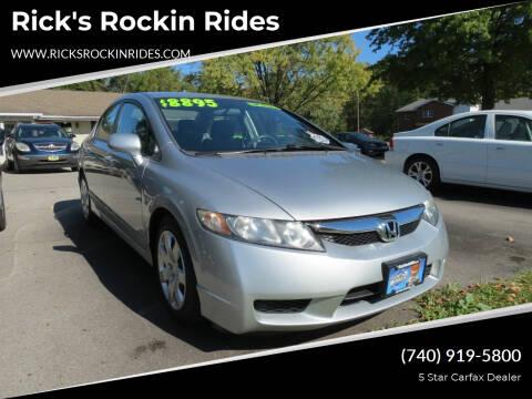 2010 Honda Civic for sale at Rick's Rockin Rides in Reynoldsburg OH