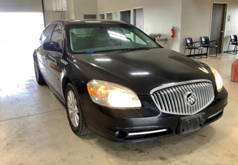 2010 Buick Lucerne for sale at Hatimi Auto LLC in Austin TX