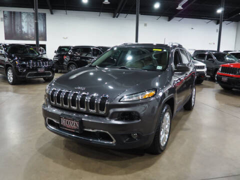 2017 Jeep Cherokee for sale at Montclair Motor Car in Montclair NJ