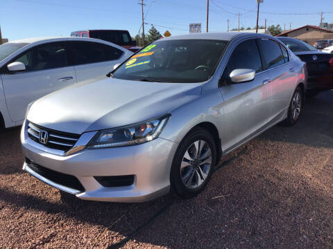 2013 Honda Accord for sale at SPEND-LESS AUTO in Kingman AZ