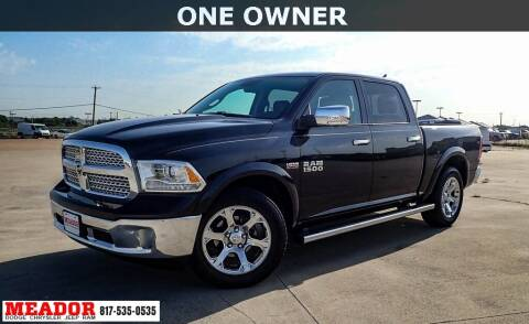 2017 RAM Ram Pickup 1500 for sale at Meador Dodge Chrysler Jeep RAM in Fort Worth TX