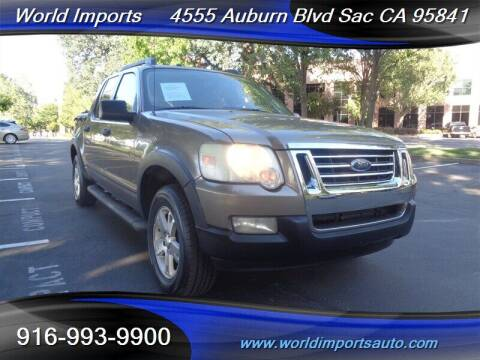 2007 Ford Explorer Sport Trac for sale at World Imports in Sacramento CA