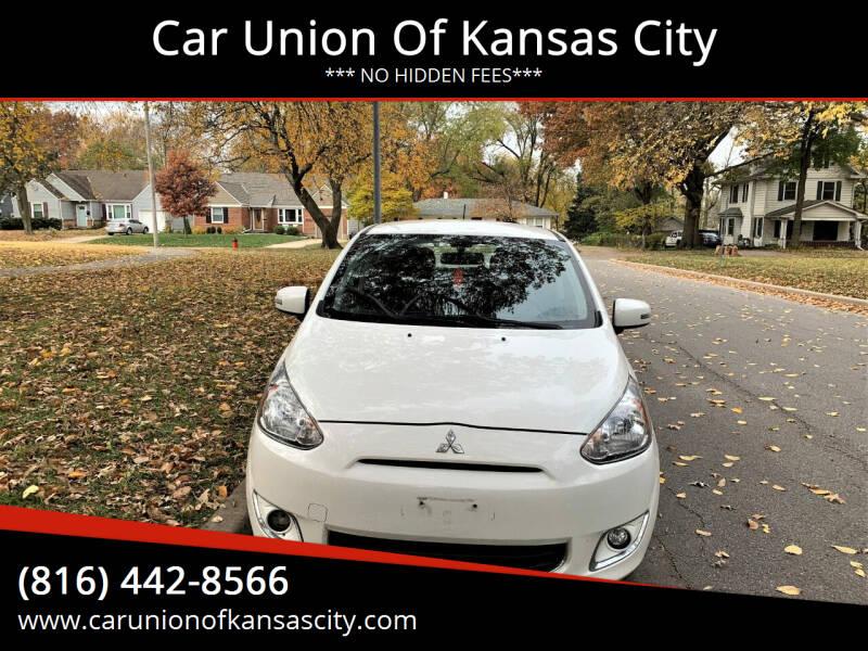 2015 Mitsubishi Mirage for sale at Car Union Of Kansas City in Kansas City MO