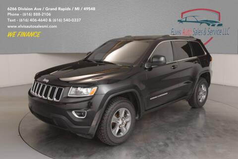 2014 Jeep Grand Cherokee for sale at Elvis Auto Sales LLC in Grand Rapids MI