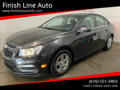 2016 Chevrolet Cruze Limited for sale at Finish Line Auto in Comstock Park MI