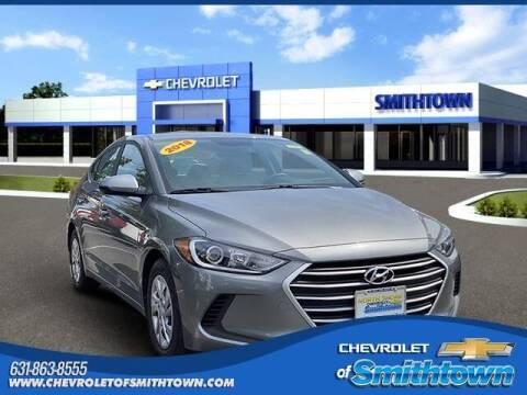 2018 Hyundai Elantra for sale at CHEVROLET OF SMITHTOWN in Saint James NY