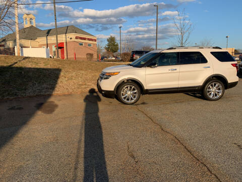 2013 Ford Explorer for sale at Bill Henderson Auto Group Inc in Statesville NC