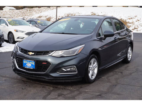 2017 Chevrolet Cruze for sale at VILLAGE MOTORS in South Berwick ME
