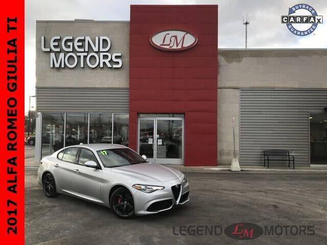 2017 Alfa Romeo Giulia for sale at Legend Motors of Detroit - Legend Motors of Ferndale in Ferndale MI