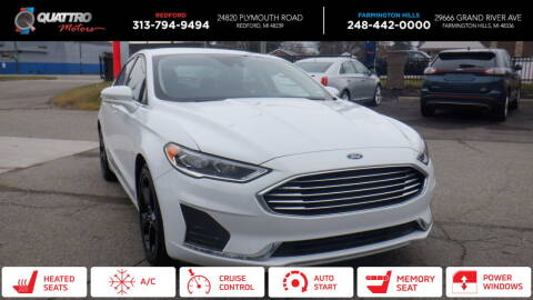 2020 Ford Fusion for sale at Quattro Motors 2 - 1 in Redford MI