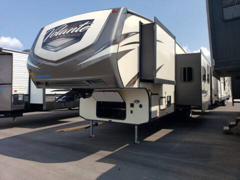 2018 Keystone Volante 360DB for sale at Ultimate RV in White Settlement TX