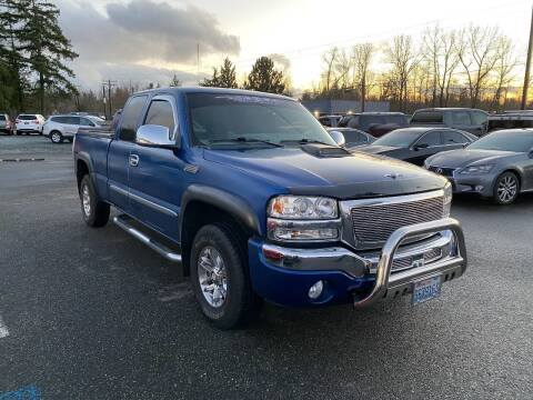 2004 GMC Sierra 1500 for sale at LKL Motors in Puyallup WA