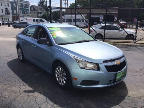 2011 Chevrolet Cruze for sale at Adams Street Motor Company LLC in Boston MA