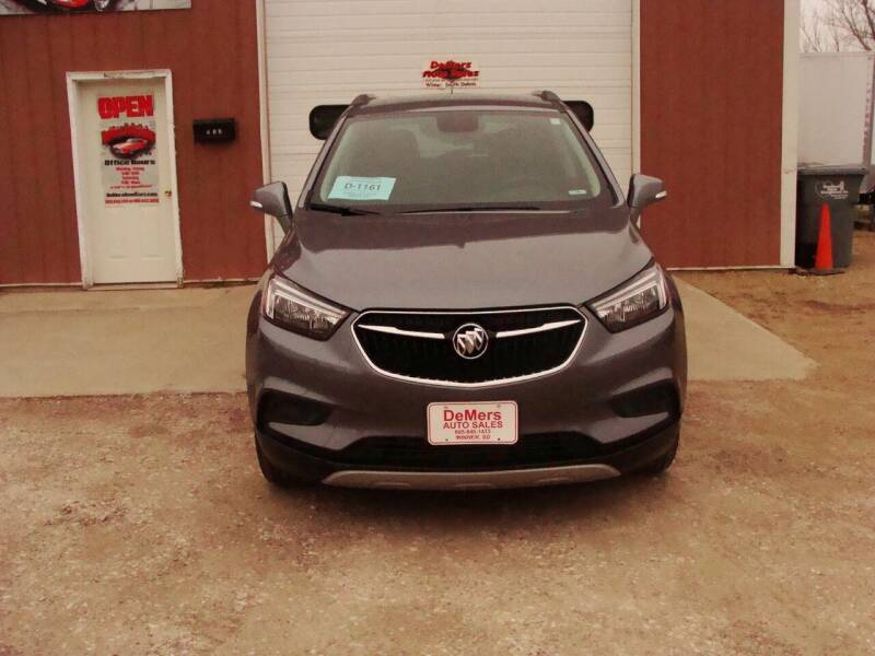 2019 Buick Encore for sale at DeMers Auto Sales in Winner SD
