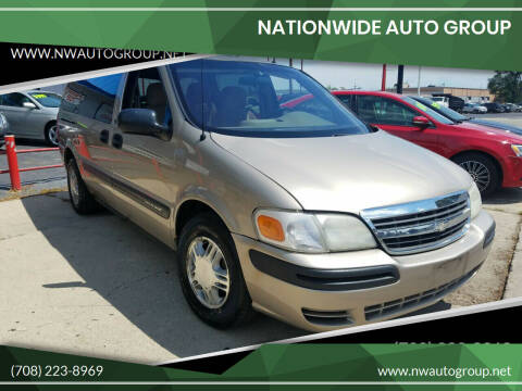 2002 Chevrolet Venture for sale at Nationwide Auto Group in Melrose Park IL