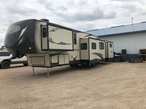 2014 Forest River 366bh for sale at C&M Auto in Worthing SD