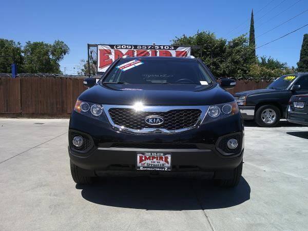2012 Kia Sorento for sale at Empire Auto Sales in Modesto CA