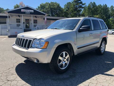 2009 Jeep Grand Cherokee for sale at CVC AUTO SALES in Durham NC
