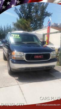 2000 GMC Yukon for sale at Cars Plus in Sarasota FL
