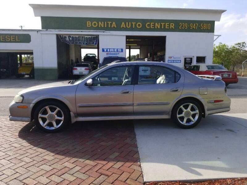 2001 Nissan Maxima for sale at Bonita Auto Center in Bonita Springs FL