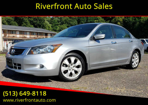 2008 Honda Accord for sale at Riverfront Auto Sales in Middletown OH