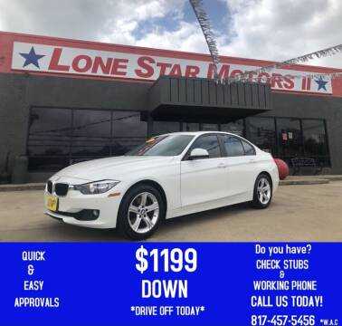 2012 BMW 3 Series for sale at LONE STAR MOTORS II in Fort Worth TX