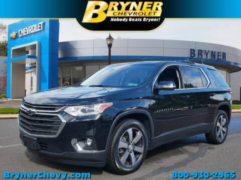 2018 Chevrolet Traverse for sale at BRYNER CHEVROLET in Jenkintown PA