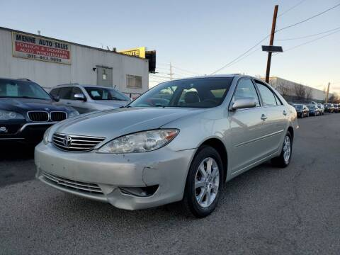 2005 Toyota Camry for sale at MENNE AUTO SALES in Hasbrouck Heights NJ