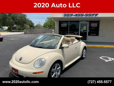 2006 Volkswagen New Beetle Convertible for sale at 2020 AUTO LLC in Clearwater FL