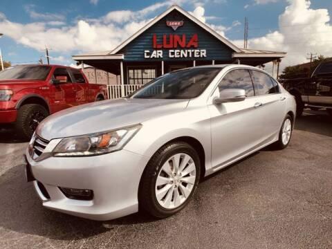 2015 Honda Accord for sale at LUNA CAR CENTER in San Antonio TX