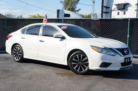 2016 Nissan Altima for sale at MATRIX AUTO SALES INC in Miami FL