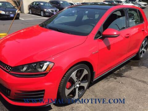 2016 Volkswagen Golf GTI for sale at J & M Automotive in Naugatuck CT