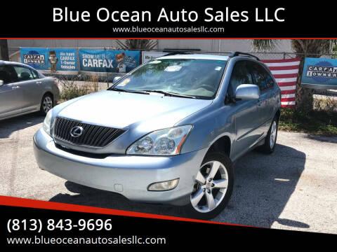 2004 Lexus RX 330 for sale at Blue Ocean Auto Sales LLC in Tampa FL