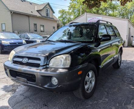 2005 Hyundai Santa Fe for sale at Budget City Auto Sales LLC in Racine WI