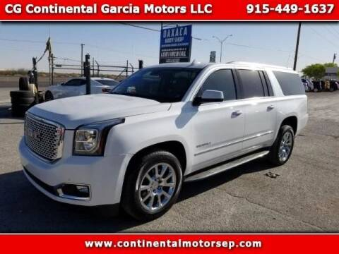 Used Gmc Yukon Xl For Sale In El Paso Tx Carsforsale Com