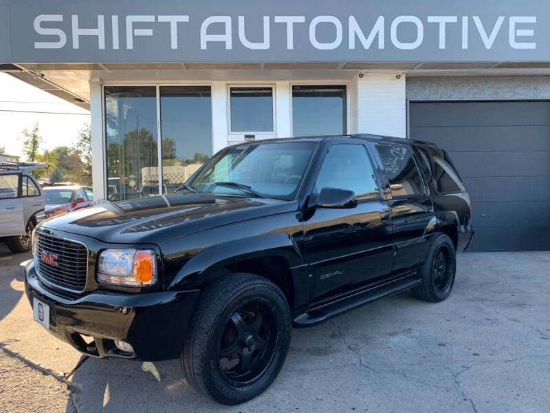 2000 GMC Yukon for sale at Shift Automotive in Denver CO