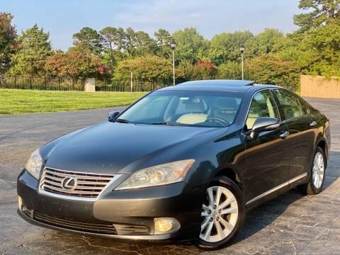 2010 Lexus ES 350 for sale at Sebar Inc. in Greensboro NC