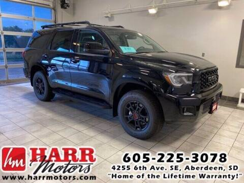 2020 Toyota Sequoia for sale at Harr's Redfield Ford in Redfield SD