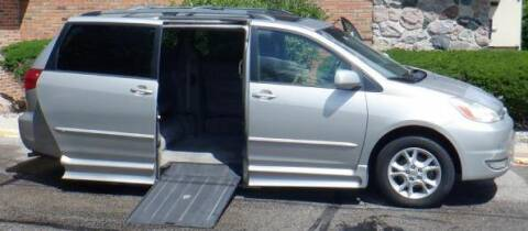 2005 Toyota Sienna for sale at Mobility Motors LLC - A Wheelchair Van in Battle Creek MI