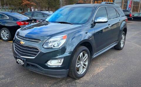 2017 Chevrolet Equinox for sale at Affordable Auto Sales in Webster WI