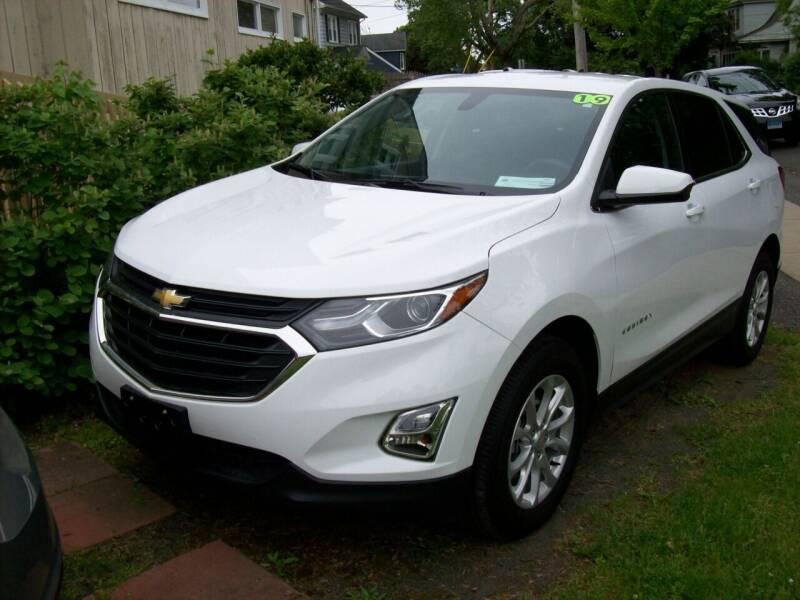 2019 Chevrolet Equinox for sale at De Parle Motors Inc in Bridgeport CT