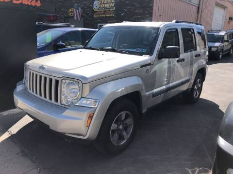 2008 Jeep Liberty for sale at STEEL TOWN PRE OWNED AUTO SALES in Weirton WV